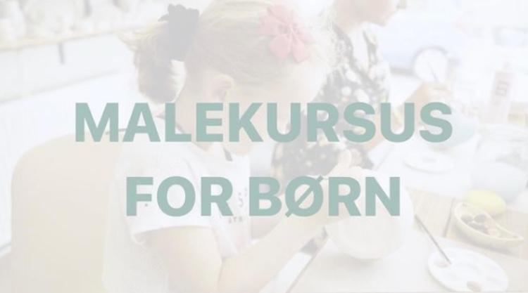 Malekursus for børn på Bisque