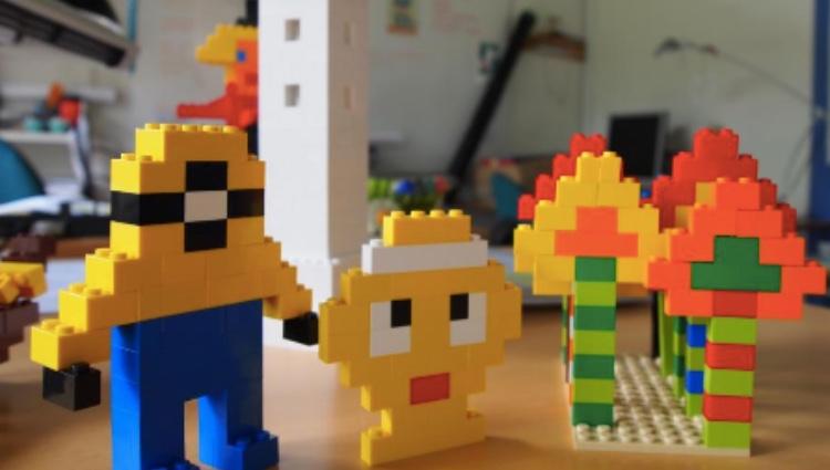 Lego - byg og vind på Roskilde Bibliotek